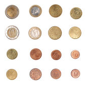 Euro coin - Spain — Stock Photo