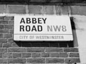 Abbey Road, London, UK — Stock Photo