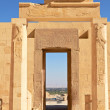 View through Gates in Hatshepsut Temple — Stock Photo