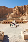 Tempel van koningin hatsjepsoet — Stockfoto