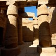 Columns with ancient egypt hieroglyphics — Foto Stock