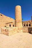 卡纳克神庙的内部 — 图库照片