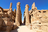 Ruins of the Karnak temple — Stock Photo