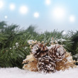 Christmas background - Lizenzfreies Foto