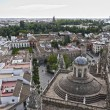 Seville from the Cathedral — Stock Photo