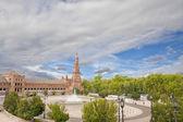 Spanischen Platz — Stockfoto