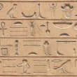 Egyptian hieroglyphics — Stock Photo #7304467