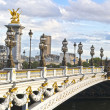 Alexandre III bridge panoramic view — Stock Photo #7504905