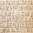 Egyptian hieroglyphics — Foto de Stock