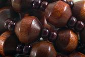 Bijoux necklace macro — Stock Photo