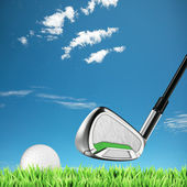 Golf theme — Stock Photo