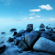 View of a rocky coast — Stockfoto