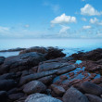 Morning seascape — Stock Photo