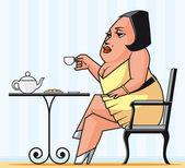 čas na čaj — Stock fotografie