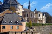 Beautiful cityscape view of Luxembourg city — Stock Photo