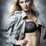 Sexy underwear female model. — Stock Photo