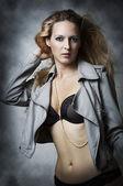 Sexy underwear female model — Stock Photo