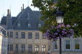 Summer in Luxembourg city. — Stock Photo