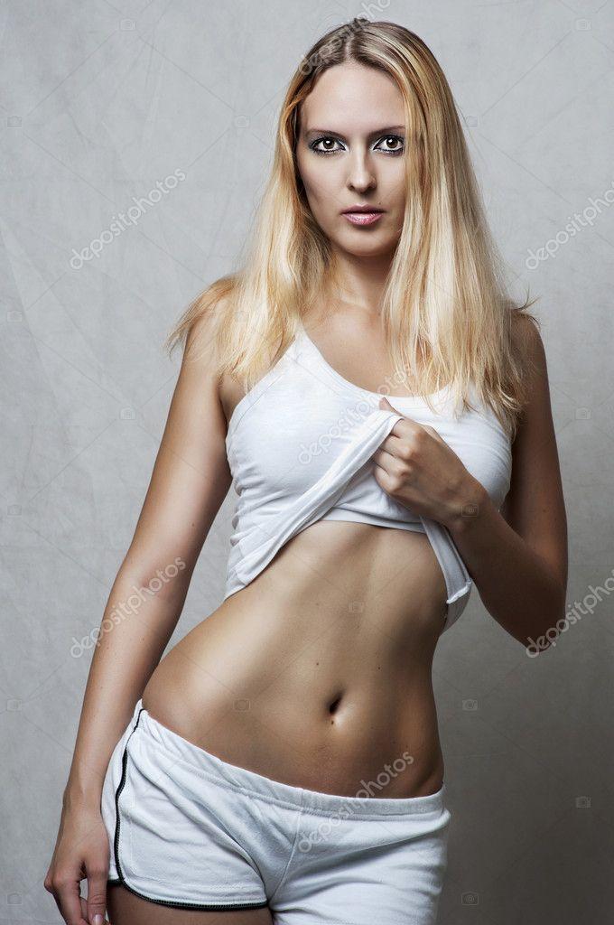 Hot female underwear models