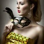Fashion portrait of glamour woman — Stock Photo #7350289