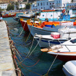 Mykonos Harbour — Stock Photo