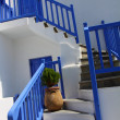 Traditional Cycladic architecture of Mykonos. (Greece, Cyclades) — Stock Photo