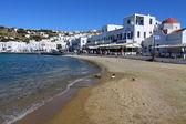 Panorama of Mykonos, Greece — Stock Photo