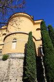 Venetian wall in Upper city - Bergamo, Italy — Stock Photo
