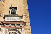 Campanile storico, centro storico, bergamo, Lombardia, Italia — Foto Stock