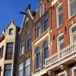 House architecture in Amsterdam - Stock Photo