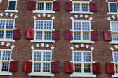 House architecture in Amsterdam — Stock Photo