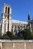 Notre Dame Cathedral - Paris — Stock Photo