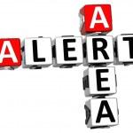 3D Alert Area Crossword — Stock Photo #7578321