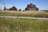 Old farm buildings — Stock Photo