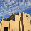 Pueblo Revival architecure — Stock Photo