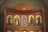 Altar de san francisco de la catedral de asís — Foto de Stock