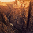 Foto de Stock  : Black Canyon Of Gunnison National Park