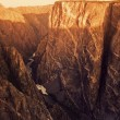ストック写真: Black Canyon Of Gunnison National Park
