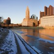 Stock Photo: Winter in Columbus