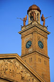 Clock Tower in Canton, Ohio — Stock Photo