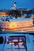 Blue Helsinki — Stock Photo