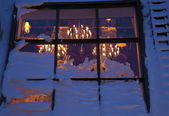 Restaurant with roof window in Helsinki — ストック写真