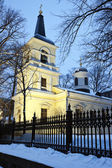 Pyhan Kolminaisuuden Kirkko - Holy Trinity Church — Stock Photo