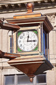 Clock in Manitowoc — Stock Photo
