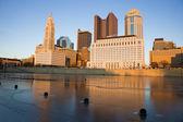 Columbus, Ohio - winter afternoon — Stock Photo