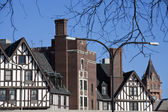 Arquitetura de estilo alemão — Foto Stock