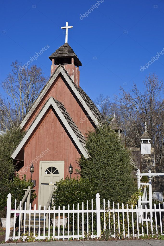 Little Church in Gatlinburg, Tennessee, USA — Stock Photo #7905806