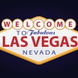 Welcome to Las Vegas — Stockvectorbeeld