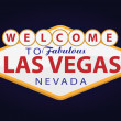 Welcome to Las Vegas — Stock vektor