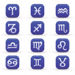 Stock Vector: Zodiac Signs